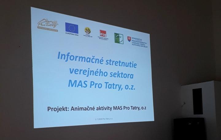 Pozývame obce na informačné stretnutie MAS