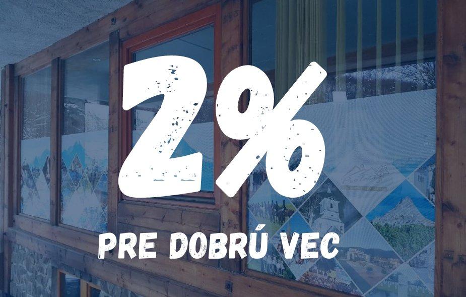 Venujte MAS Pro Tatry 2 % z vašich daní