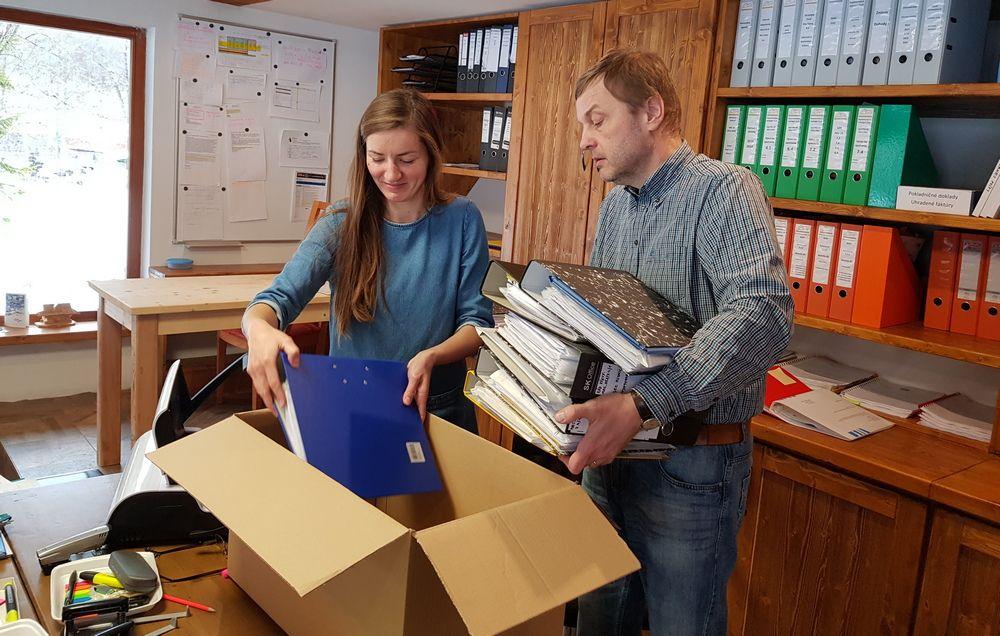 Poslali sme plné balíky do Nitry