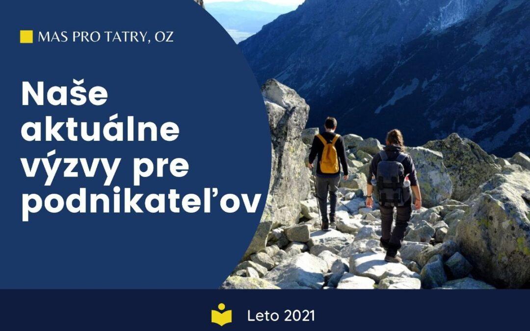 Leto 2021: Aké eurofondové výzvy môžu využiť malí podnikatelia pod Tatrami?